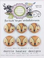 Darcie's Heart & Home Tin Pins - No Lion