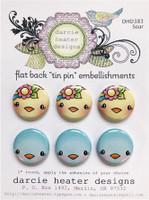 Darcie's Heart & Home Tin Pins - Soar