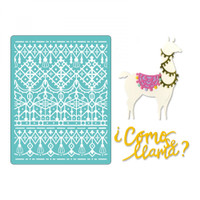 Sizzix Thinlits Die Set 7PK With Textured Impressions by Katelyn Lizardi - Cómo Se Llama