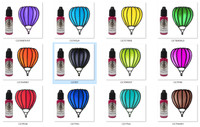 "Cosmic Shimmer Colourful Crystal Tints 12 pack - ""I Want It All' Bundle"""