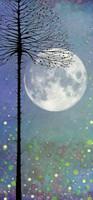 Lavinia Stamps, SceneScapes 4/pkg - Night-Time Magic