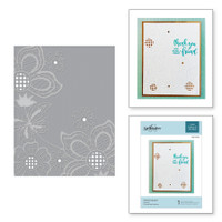 Spellbinders Cut and Emboss Folder - Floret Cluster