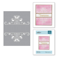 Spellbinders Cut and Emboss Folder - Dotted Lace