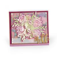 Sizzix Thinlits Die Set 9PK by Katelyn Lizardi - Floral Bunch Flip and Fold