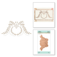 Spellbinders Glimmer Hot Foil Plates by Paul Antonio - Cartouche
