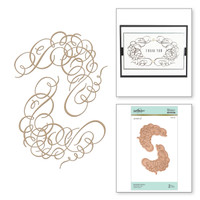 Spellbinders Glimmer Hot Foil Plates by Paul Antonio - Flourishes Frame