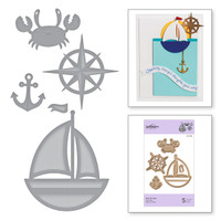 Spellbinders Exclusive Indie Collection, D-Lites Dies - Out To Sea