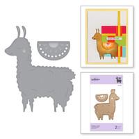 Spellbinders Exclusive Indie Collection, D-Lites Dies - Happy Llama