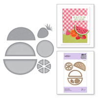 Spellbinders Exclusive Indie Collection, D-Lites Dies - Fruit Salad