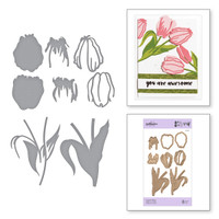 Spellbinders Exclusive Indie Collection, Shapeabilities Dies_ - Layered Tulips