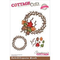 CottageCutz Elites Die - Build-A-Grapevine Wreath