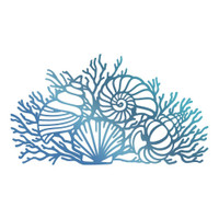 Couture Creations Hotfoil Stamp, Seaside & Me - By The Seashore (1pc)