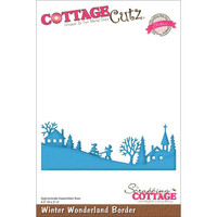 CottageCutz Elites Die - Winter Wonderland Border
