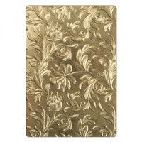 Sizzix 3-D Texture Fades Embossing Folder by Tim Holtz - Botanical