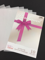 Simply Defined A4 Parchment Vellum, 150GSM 10 Sheets Pack