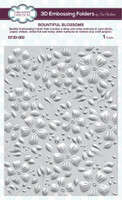 Creative Expressions Embossing Folder 3D 5.75 x 7.50 inches - Bountiful Blossoms