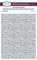 Creative Expressions Embossing Folder 3D 5.75 x 7.50 inches - Splendid Garland