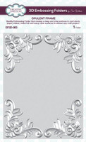 Creative Expressions Embossing Folder 3D 5.75 x 7.50 inches - Opulent Frame