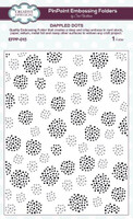 Creative Expressions Embossing Folder 7.48  x 5.70 inches - Dappled Dots PinPoint