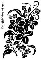 Woodware Clear Singles - Magnolia Spray