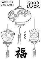 Woodware Clear Singles - Japanese Lanterns
