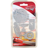 Character World Disney, Cars 3 Die Set - Embellishments