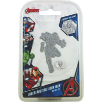 Character World Marvel, Avengers Die And Face Stamp Set - Avengers Indestructible Iron Man