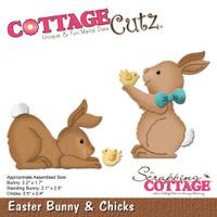 CottageCutz Dies - Easter Bunny & Chicks