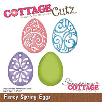 CottageCutz Dies - Fancy Spring Eggs