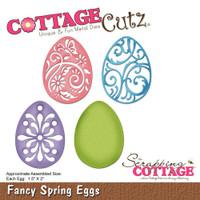 CottageCutz Dies - Fancy Spring Eggs