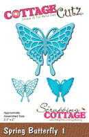 CottageCutz Dies - Spring Butterfly 1