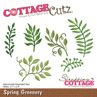 CottageCutz Dies - Spring Greenery