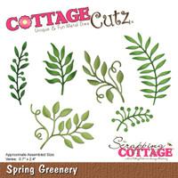 CottageCutz Dies - Spring Greenery