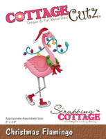 CottageCutz Dies - Christmas Flamingo