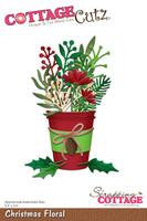 CottageCutz Dies - Christmas Floral