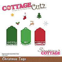 CottageCutz Dies - Christmas Tags