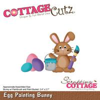 CottageCutz Dies - Egg Painting Bunny