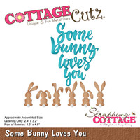 CottageCutz Dies - Some Bunny Loves You