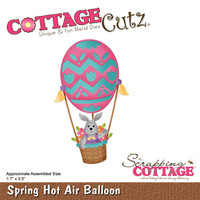 CottageCutz Dies - Spring Hot Air Balloon