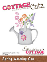 CottageCutz Dies - Spring Watering Can