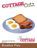 CottageCutz Dies - Breakfast Plate