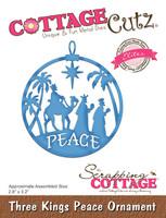 CottageCutz Elites Dies - Three Kings Peace Ornament