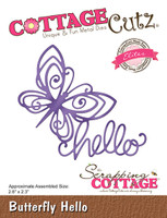 CottageCutz Dies - Butterfly Hello