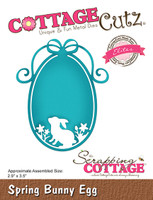 CottageCutz Dies - Spring Bunny Egg