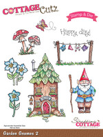 CottageCutz Stamp & Die Set - Garden Gnomes 2