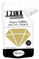 Aladine Izink Diamond Glitter Paint - Dore (Gold)