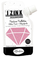 Aladine Izink Diamond Glitter Paint - Rose (Pink)