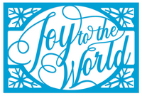 Simply Defined June 2018 Release Dies Set - Through the Year Collection, Joy To The World