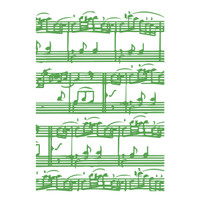 Simply Defined June 2018 Release Stamp - 5 x 7 Music Background