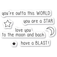 Memory Box Stamps - Outta This World